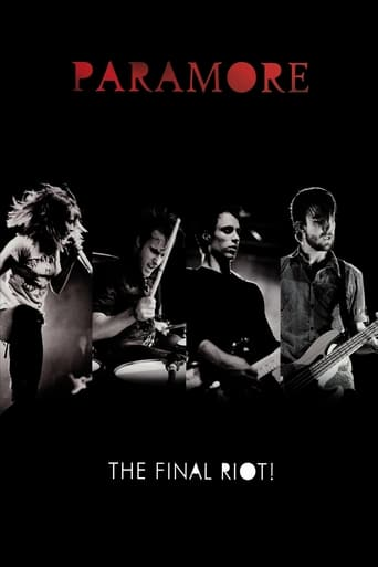 Poster of Paramore: The Final Riot!