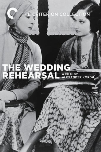 Poster of Wedding Rehearsal