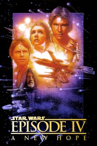 Star Wars IV: A New Hope poster