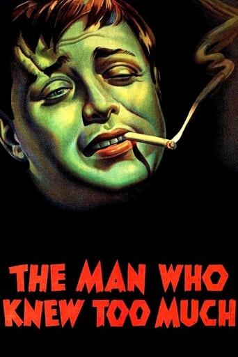 Poster of The Man Who Knew Too Much