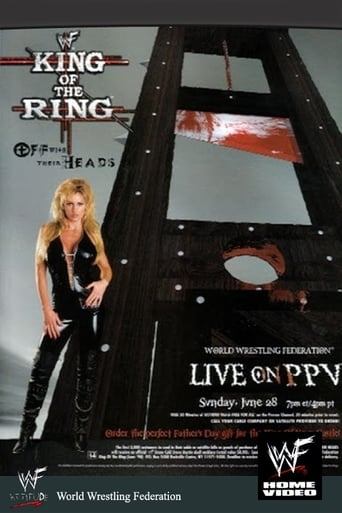 Poster of WWE King of the Ring 1998