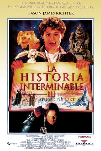 Poster of La historia interminable III: Las aventuras de Bastian