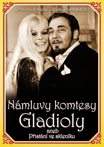 Poster of Námluvy komtesy Gladioly aneb Přistání ve skleníku