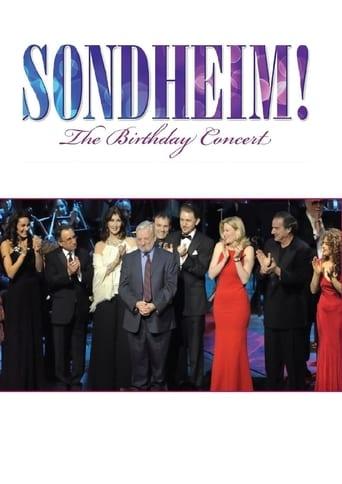 Sondheim! The Birthday Concert poster