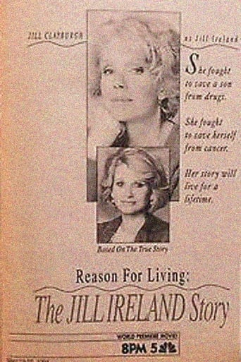 Poster of Reason for Living: The Jill Ireland Story