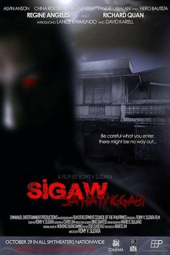 Poster of Sigaw sa Hatinggabi