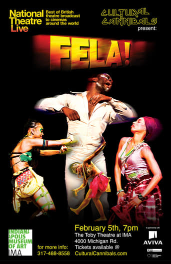 Poster of National Theatre Live: Fela!