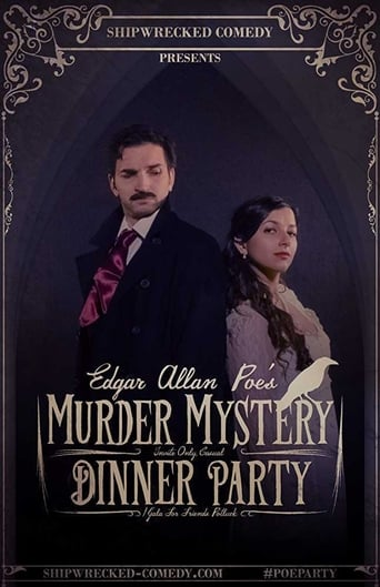 Poster of Edgar Allan Poe's Murder Mystery Dinner Party