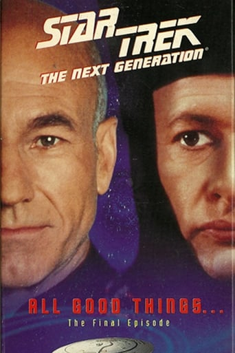 Poster of Star Trek: The Next Generation - All Good Things
