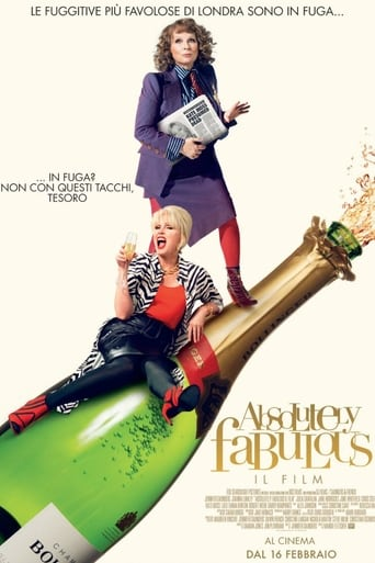 Poster of Absolutely fabulous - Il film