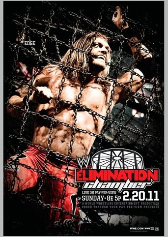 Poster of WWE Elimination Chamber 2011