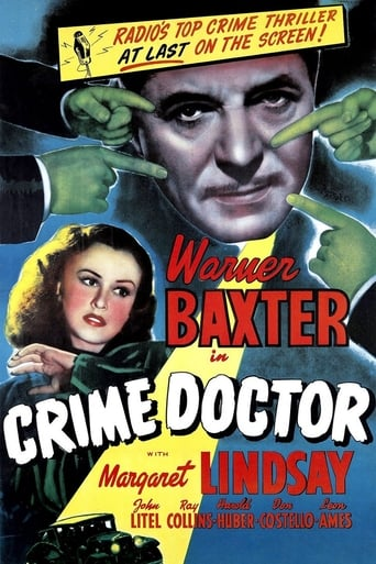 Poster of Crime Doctor