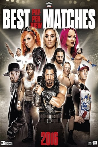 Poster of WWE: Best Pay-Per-View Matches of 2016