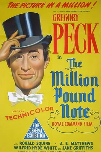 Poster of The Million Pound Note