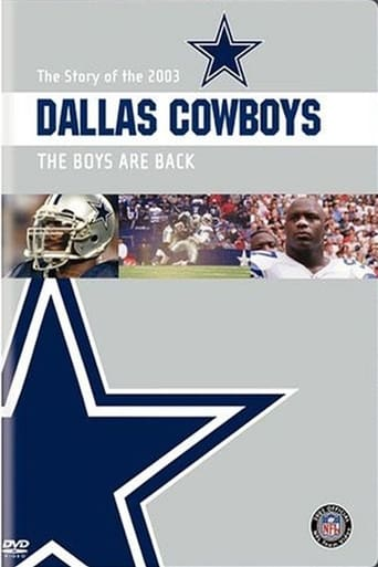 Poster of The Story of the 2003 Dallas Cowboys: The Boys Are Back