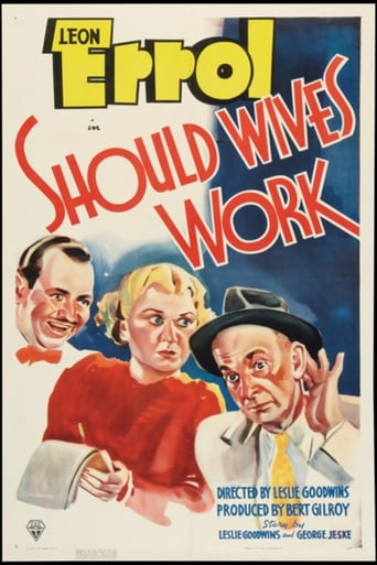 Poster of Should Wives Work?