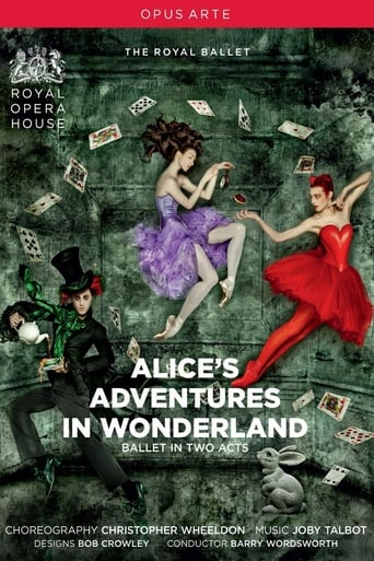 Poster of Alice's Adventures in Wonderland