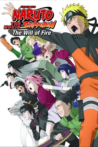 Poster of Naruto Shippuden the Movie: The Will of Fire