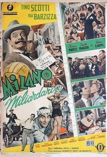 Poster of Milano miliardaria