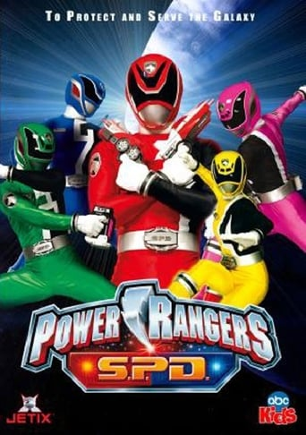 Poster of Power Rangers S.P.D.