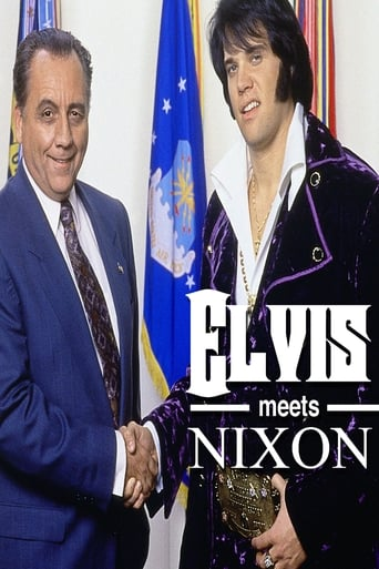 Poster of Elvis Meets Nixon