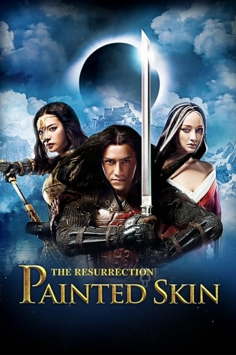 Poster of Painted Skin: The Resurrection