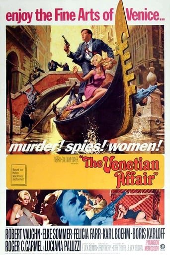 Poster of The Venetian Affair
