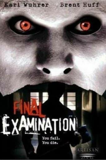 Poster of Final Examination