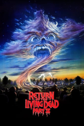 Poster of Return of the Living Dead Part II
