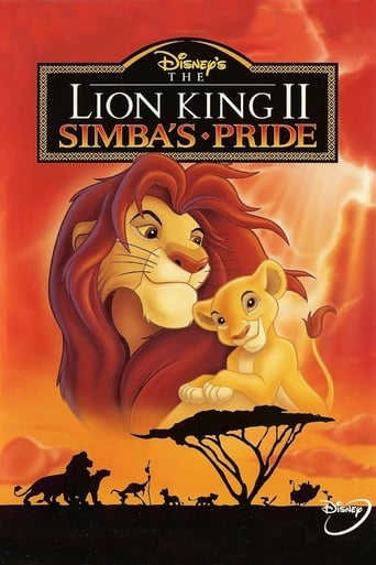 The Lion King 2: Simba's Pride Movie Poster