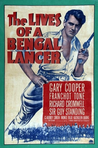 Poster of The Lives of a Bengal Lancer