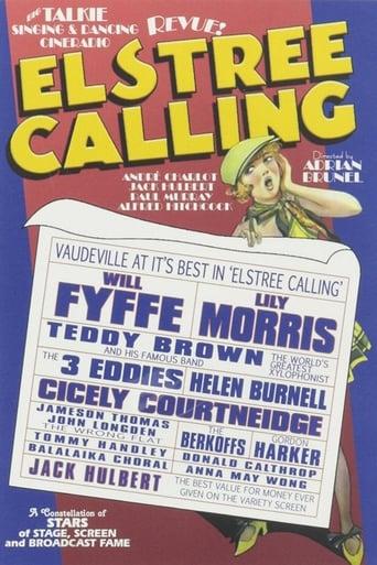 Poster of Elstree Calling