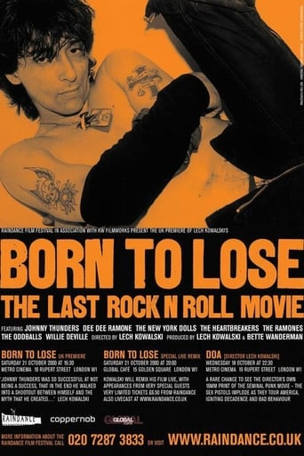 Poster of Born to Lose: The Last Rock and Roll Movie