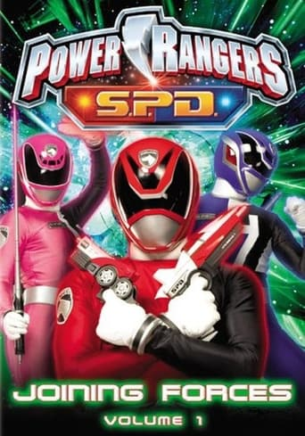 Poster of Power Rangers SPD: Joining Forces