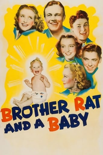 Poster of Brother Rat and a Baby