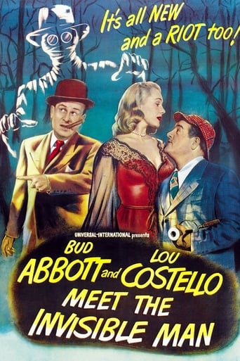 Poster of Abbott and Costello Meet the Invisible Man