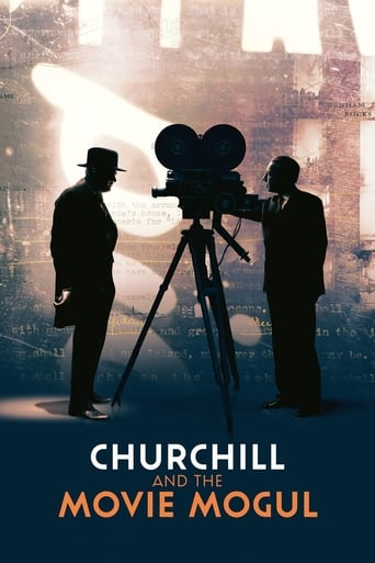Poster of Churchill and the Movie Mogul