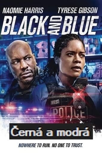 Černá a modrá