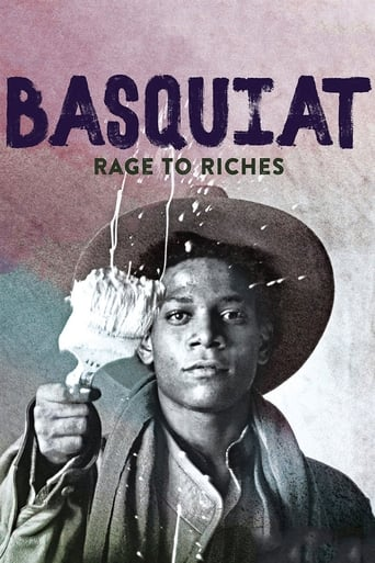 Poster of Basquiat: Rage to Riches