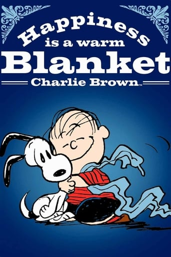 Poster of Happiness Is a Warm Blanket, Charlie Brown