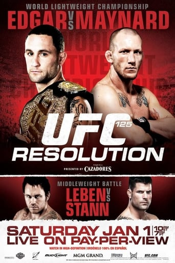 Poster of UFC 125: Resolution