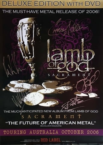 Poster of Lamb of God: The Making of Sacrament