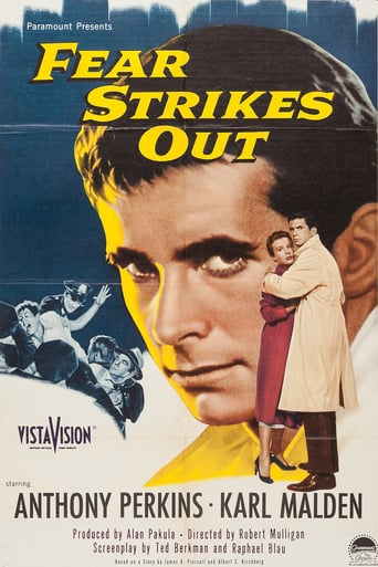 Poster of Fear Strikes Out
