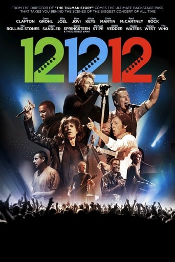 Poster of 12-12-12 The Concert for Sandy Relief