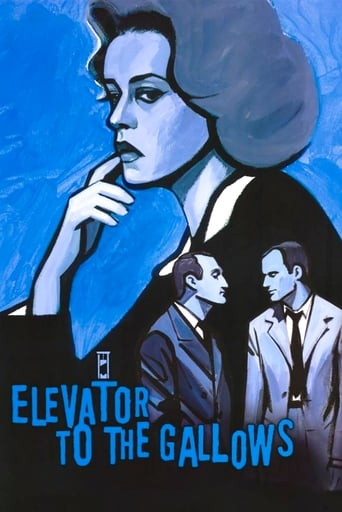 Poster of Elevator to the Gallows