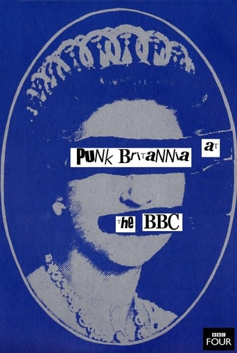 Poster of Punk Britannia at the BBC