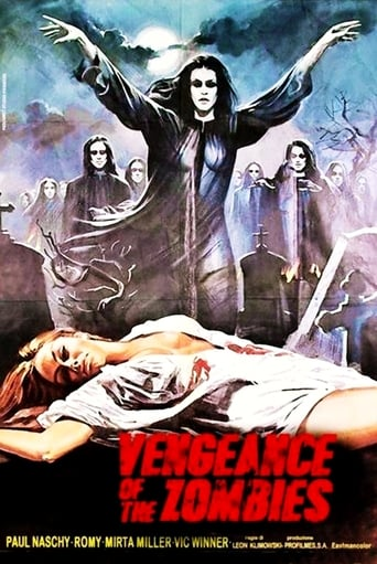 Poster of Vengeance of the Zombies