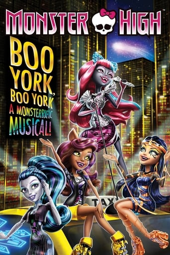 Monster High: Boo York, Boo York poster