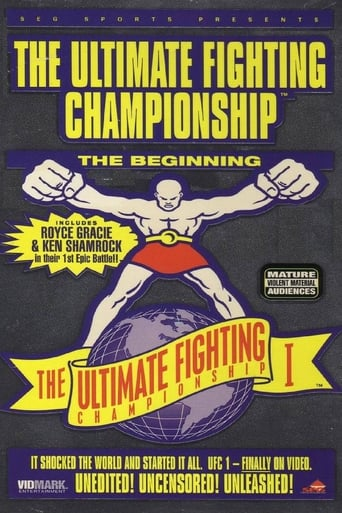 Poster of UFC 1: The Beginning