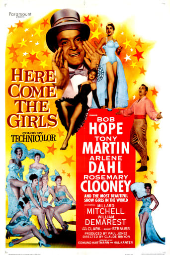 Poster of Here Come the Girls